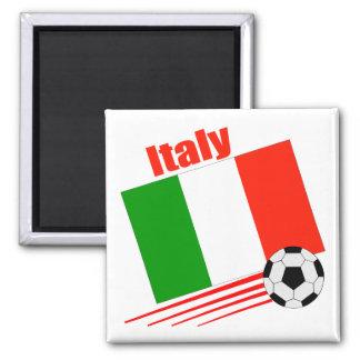 Équipe de football de l'Italie Magnet Carré