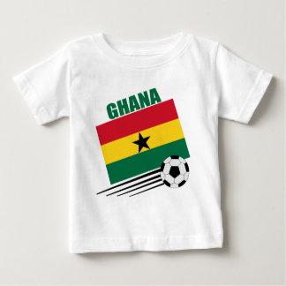 Équipe de football du Ghana T-shirt Pour Bébé