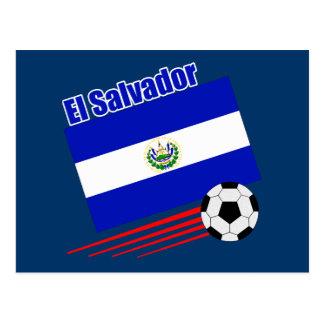Équipe de football du Salvador Carte Postale