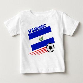 Équipe de football du Salvador T-shirt Pour Bébé