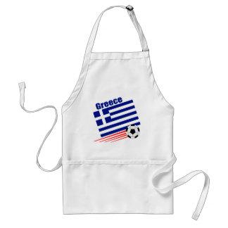 Équipe de football grecque tablier