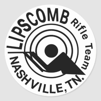 Équipe de fusil de Lipscomb - autocollant