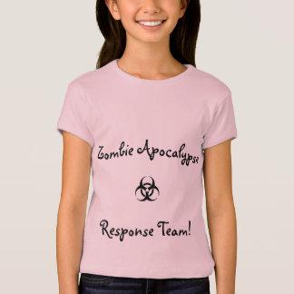 Équipe de réponse d'apocalypse de zombi de chemise t-shirt
