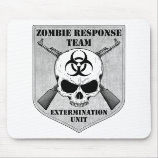 Équipe de réponse de zombi tapis de souris