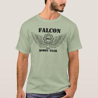 Équipe de robot de faucon t-shirt