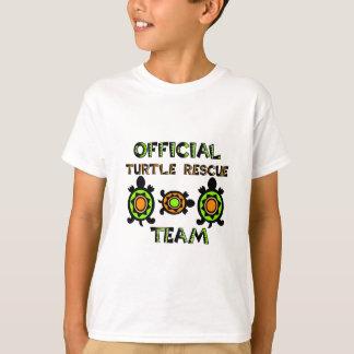 Équipe de secours officielle 1 de tortue t-shirt