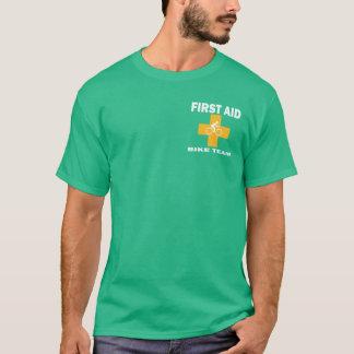 Équipe de vélo de premiers secours t-shirt