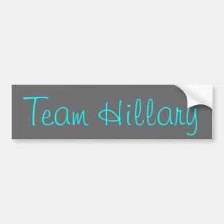 Équipe Hillary Autocollant De Voiture