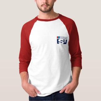 Équipe ISU sur T-shirt de raglan de la douille des