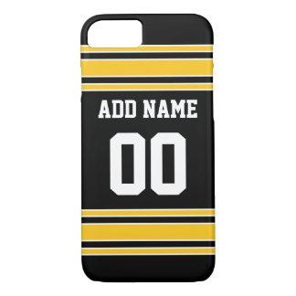 Équipe Jersey avec le nom et le nombre faits sur Coque iPhone 7