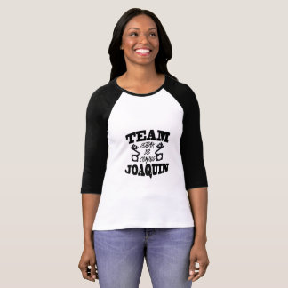Équipe Joaquin : Le bifteck vient T-shirt