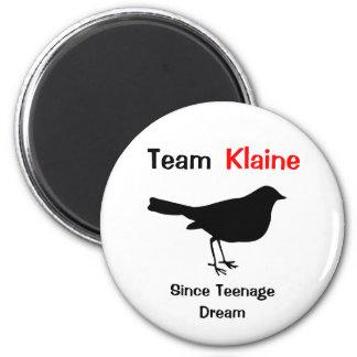 Équipe Klaine Magnet Rond 8 Cm