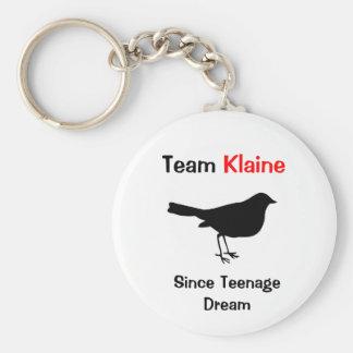 Équipe Klaine Porte-clé Rond