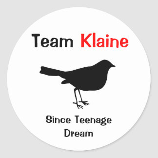 Équipe Klaine Sticker Rond