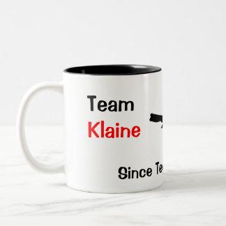Équipe Klaine Tasse 2 Couleurs