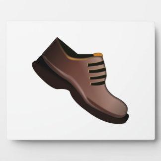 Équipe la chaussure - Emoji Plaque Photo
