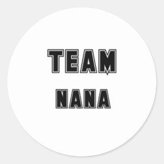 Équipe Nana Sticker Rond