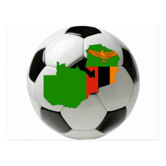Équipe nationale de la Zambie Carte Postale