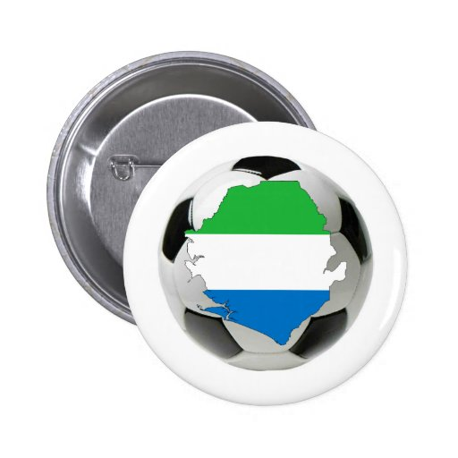 Équipe nationale de Sierra Leone Pin's Avec Agrafe
