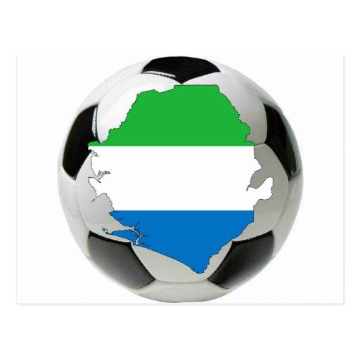 Équipe nationale de Sierra Leone Cartes Postales