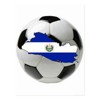 Équipe nationale du Salvador Carte Postale