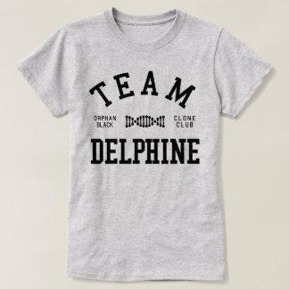 Équipe noire orpheline Delphine T-shirt