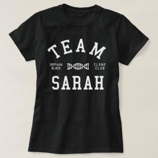 Équipe noire orpheline Sarah T-shirt