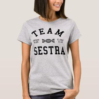 Équipe noire orpheline Sestra T-shirt