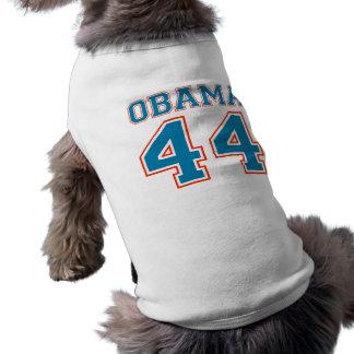 équipe obama t-shirt pour chien