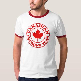 Équipe potable canadienne t-shirt