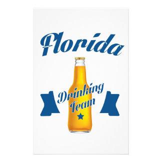 Équipe potable de la Floride Papier À Lettre Personnalisé
