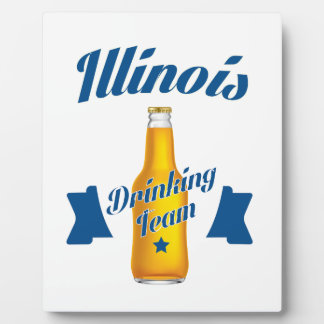 Équipe potable de l'Illinois Plaques D'affichage