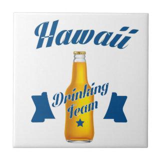 Équipe potable d'Hawaï Petit Carreau Carré