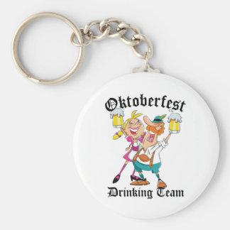 Équipe potable d'Oktoberfest Porte-clés