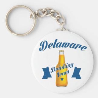 Équipe potable du Delaware Porte-clé Rond