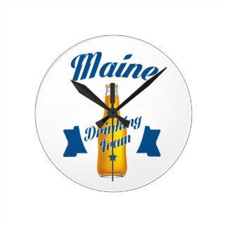 Équipe potable du Maine Horloge Ronde