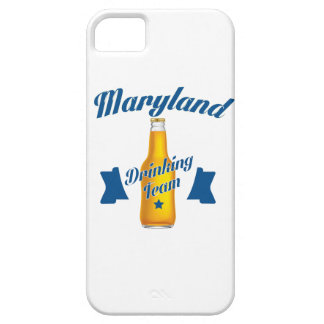 Équipe potable du Maryland Coque Barely There iPhone 5