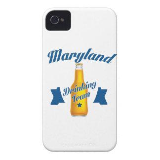 Équipe potable du Maryland Coque iPhone 4