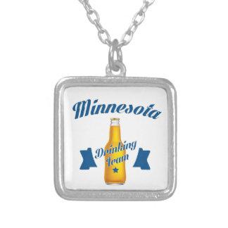 Équipe potable du Minnesota Pendentif Carré