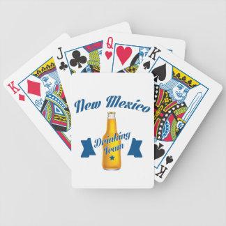 Équipe potable du Nouveau Mexique Jeux De Cartes