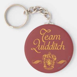 Équipe QUIDDITCH™ de Harry Potter   Porte-clé Rond
