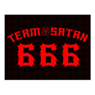 Équipe Satan 666 Cartes Postales