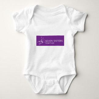 Équipement de bébé de sept soeurs body
