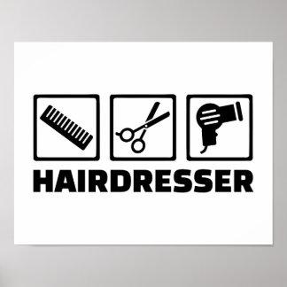 Équipement de coiffeur posters