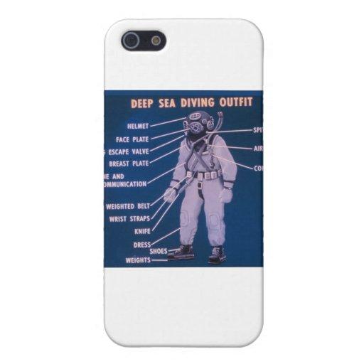 Équipement de plongée de mer profonde coque iPhone 5
