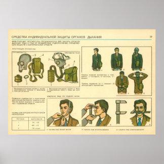 équipement de protection personnel posters
