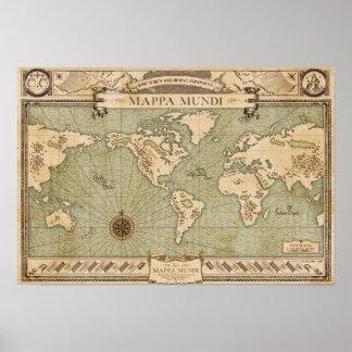 Équipement de Wizarding du Wiseacre - Mappa Mundi Posters