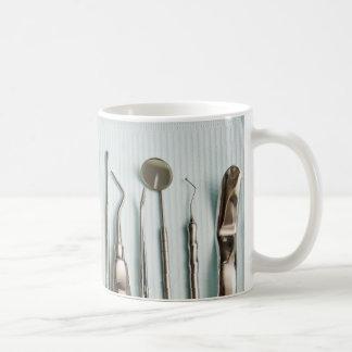 Équipement dentaire mug blanc