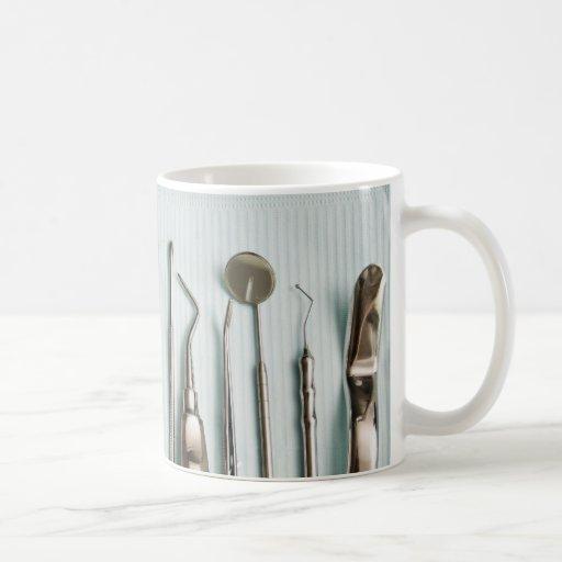 Équipement dentaire tasse à café