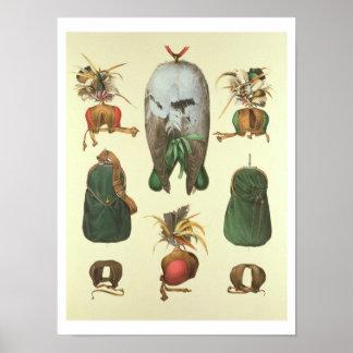 Équipement pour la fauconnerie, de 'Traite de Fauc Poster